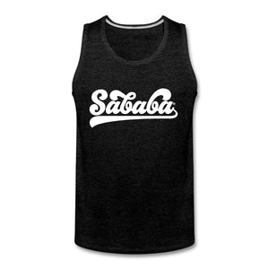 SABABA® Logo Men's Tank - charcoal gray