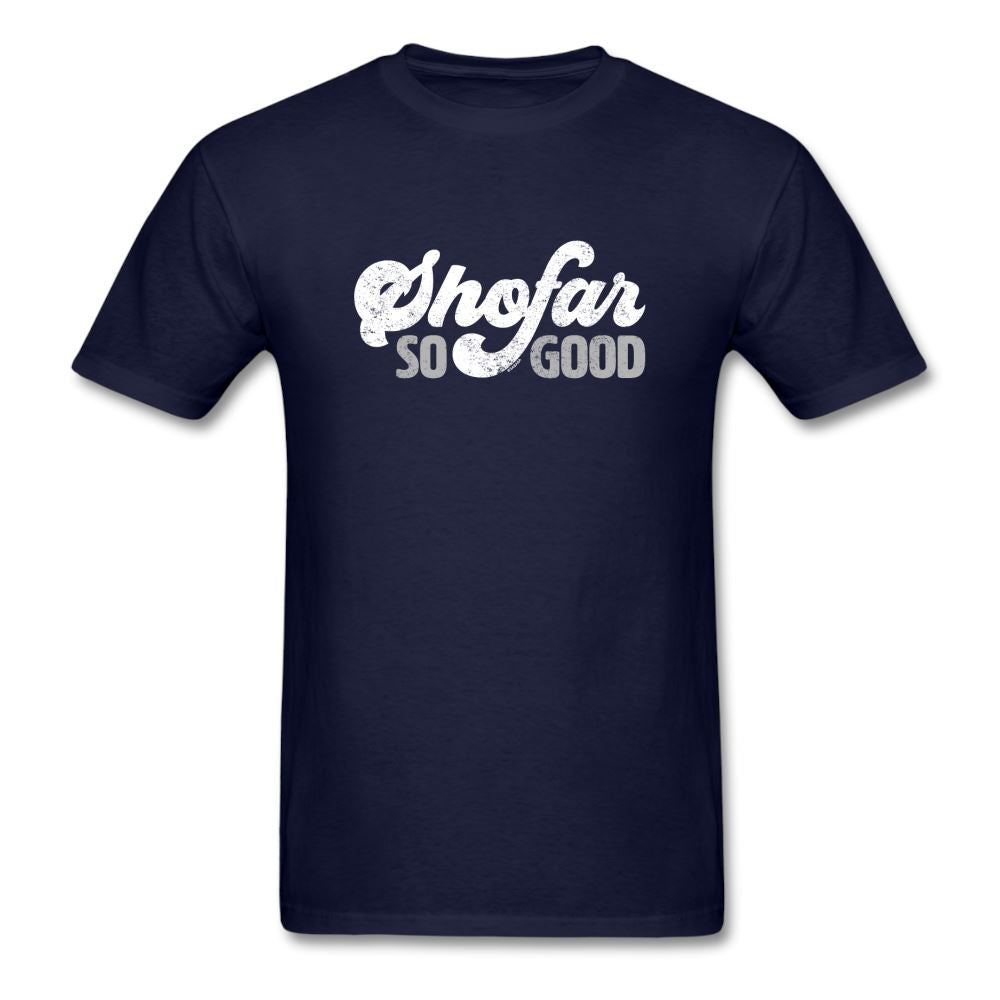 Shofar So Good Unisex Classic T-Shirt - navy