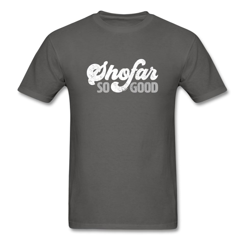 Shofar So Good Unisex Classic T-Shirt - charcoal