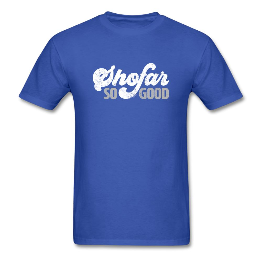 Shofar So Good Unisex Classic T-Shirt - royal blue