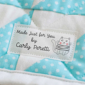 Cotton Cute Cat Labels