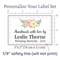 PPLR_HIDDEN_PRODUCT Floral Watercolor Large Labels