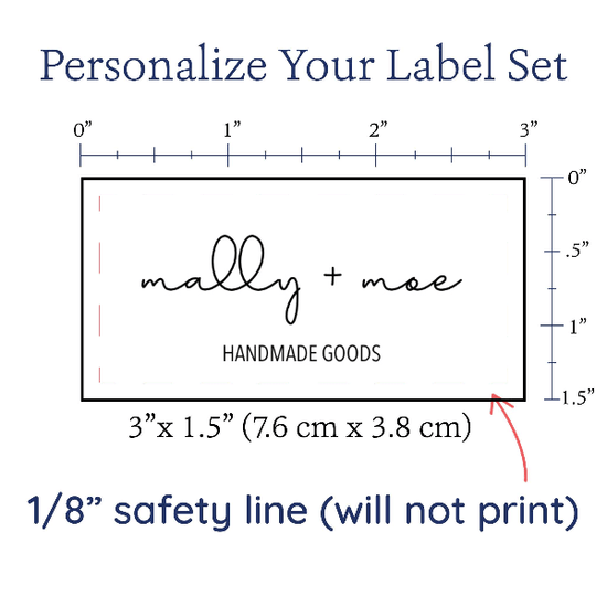 "PPLR_HIDDEN_PRODUCT Upload your Logo or Image - 1.5""x3"" Cotton Label"