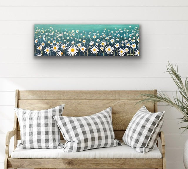 LAZY DAISIES - part of my garden series