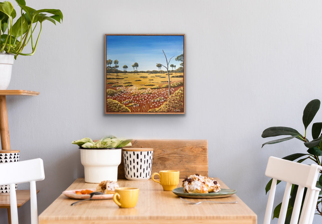 Outback Daisies -SOLD-
