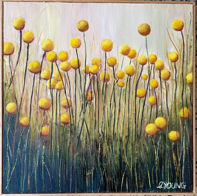 BILLY BUTTONS ON YOUR WALL - SOLD-