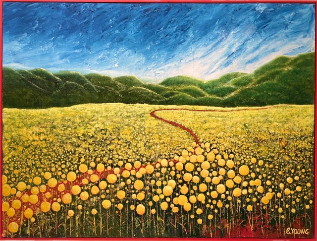 Billy Buttons and the Red Road - SOLD