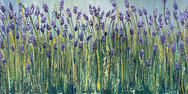 Lavender Field - SOLD-