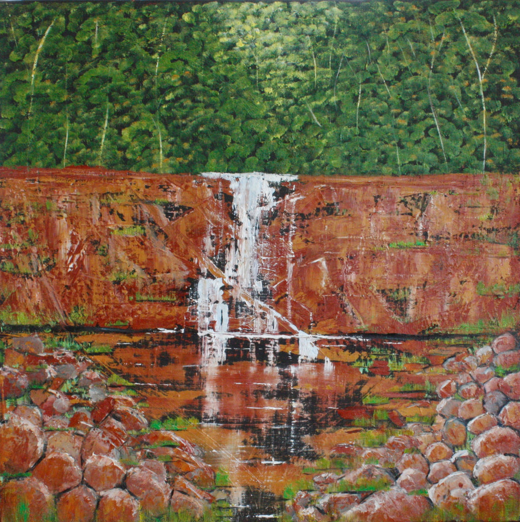 A Silvery Cascade - SOLD-