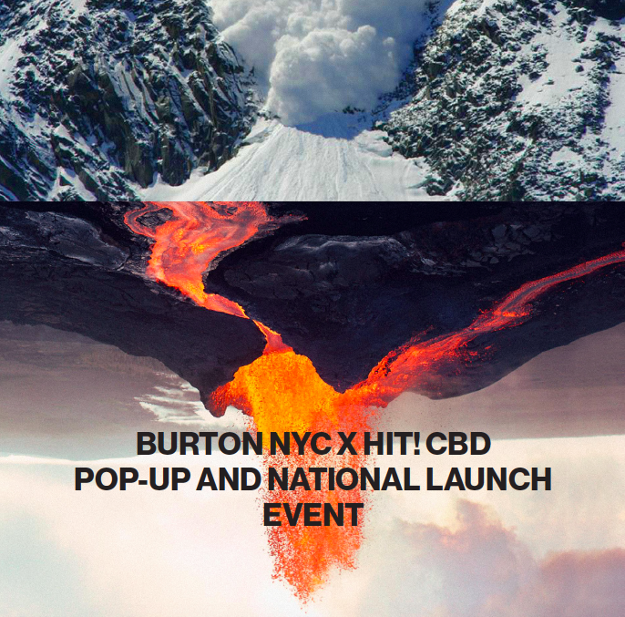 NYC Burton Snowboards x Hit! Pop shop
