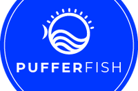 Pufferfish Logo Sticker