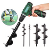 Post Hole Auger Drill Bit For Garden Planting - Daniels Store