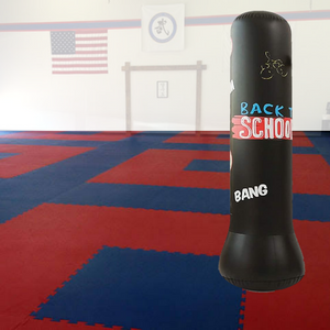 Premium Inflatable Free Standing Punching Bag 62 in - Daniels Store