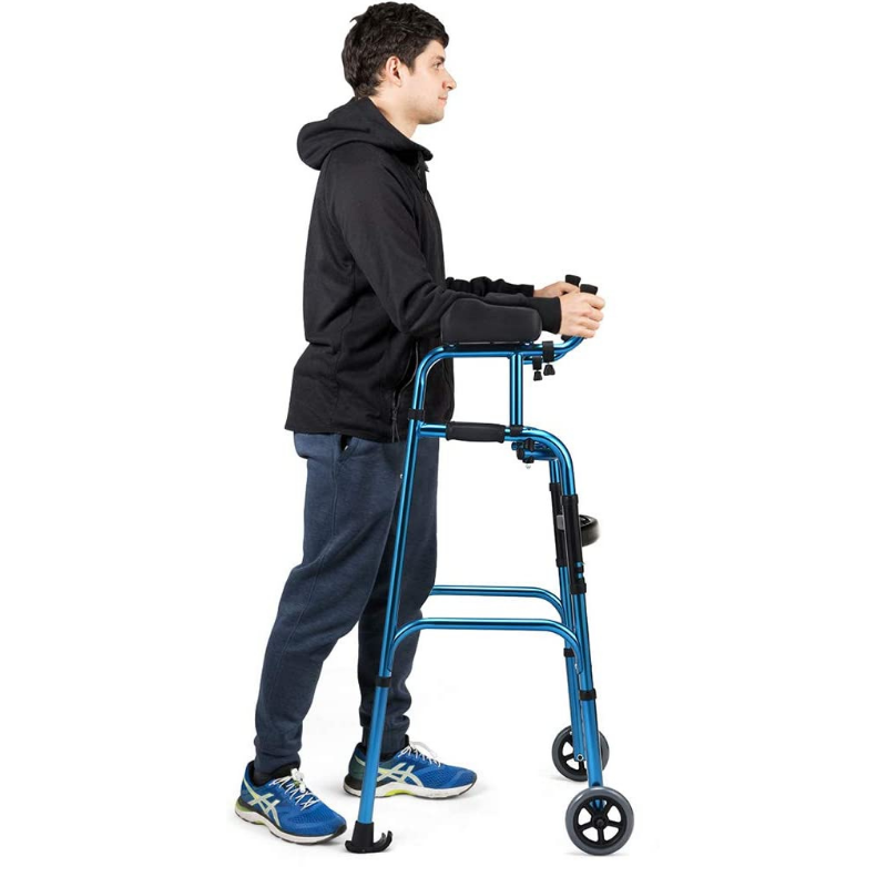 Lightweight Standing Senior Upright Straight Walker - Daniels Store