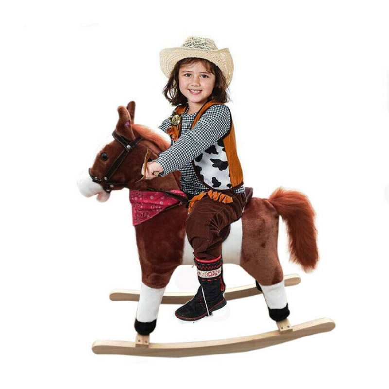 Premium Kids Wooden Rocking Toy Horse - Daniels Store