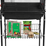 "Portable Large Big Bird Cage With Wheels 59"" - Daniels Store"