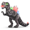 Realistic Kids LED Light Up Walking Dinosaur Toy With Sound - Daniels Store
