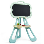 Portable Kids 4 in 1 Magnetic Chalkboard Art Easel - Daniels Store