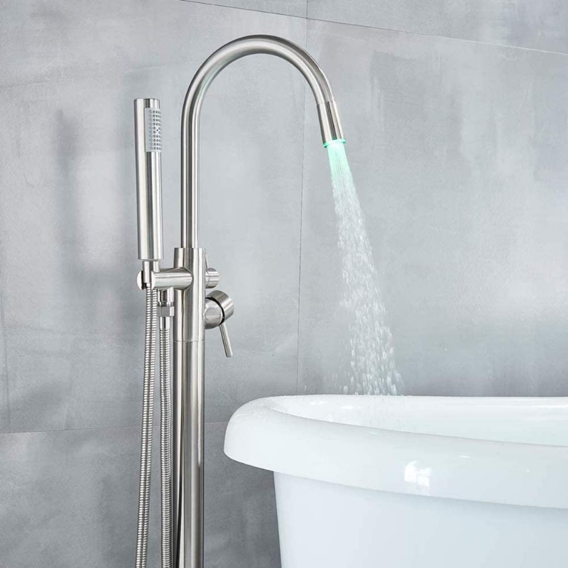 Premium Freestanding Floor Mounted Bathtub Filler Faucet - Daniels Store