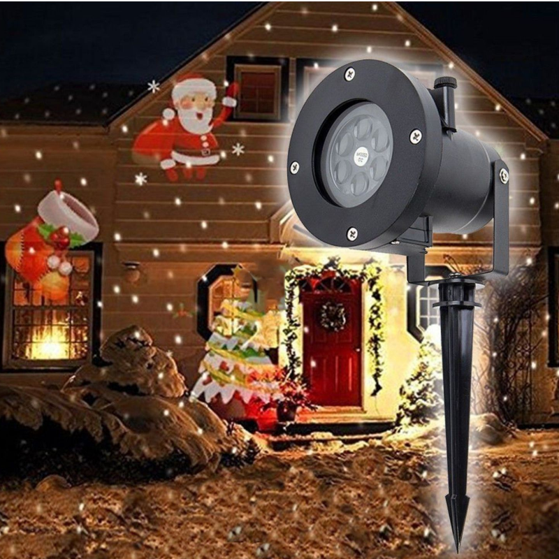 Animated Outdoor Christmas Holiday Laser Light Projector - Daniels Store
