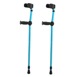 Lightweight Ergonomic Adjustable Forearm Crutches - Daniels Store