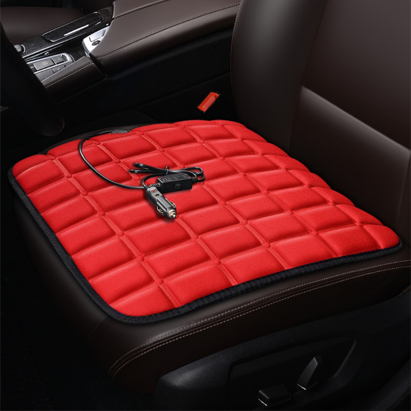 Premium Heated / Warm Car Seat Cover Pad 43×43cm - Daniels Store