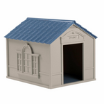 Large Heated Outdoor Dog House Kennel - Daniels Store