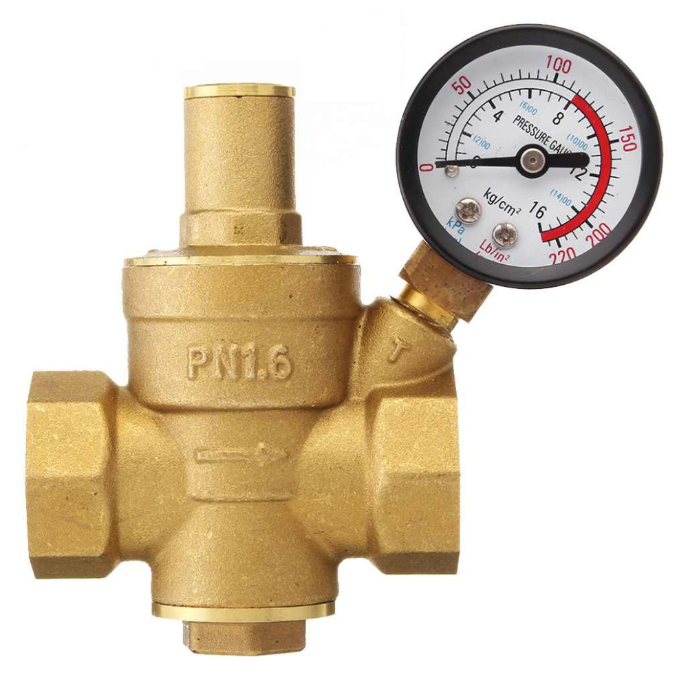 Home Water Pressure Regulator Valve