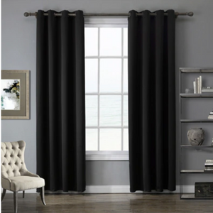 Room Darkening Sun Light Blocking Blackout Curtain - Daniels Store