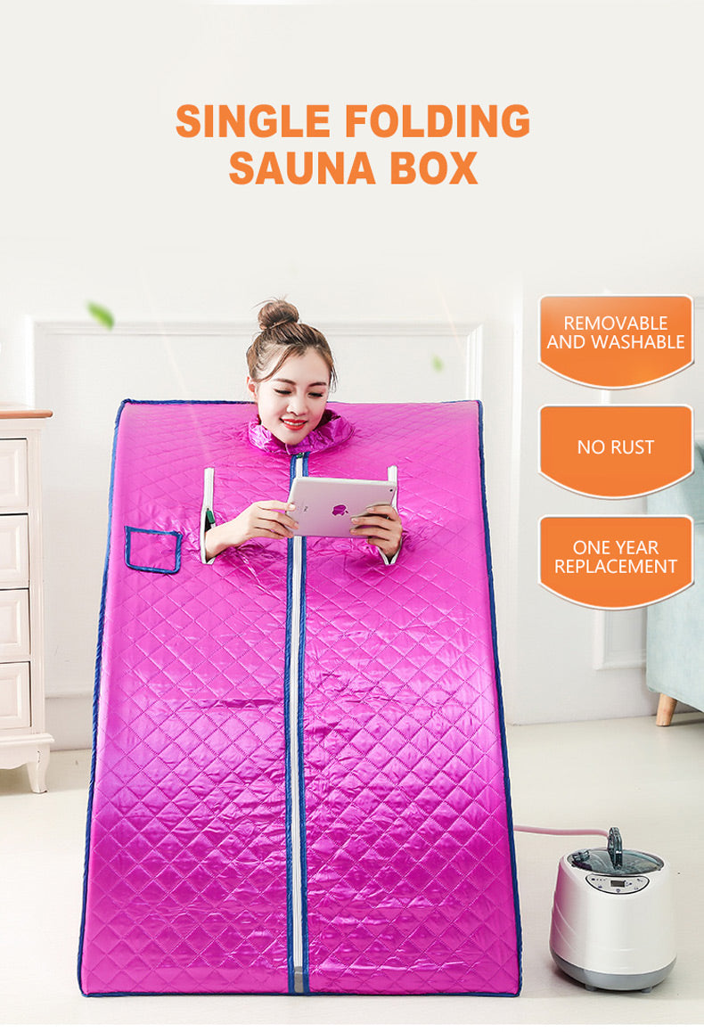 Portable Spacious Infrared Home Sauna Kit - Daniels Store