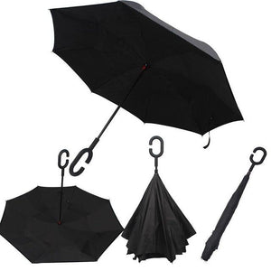 Upside Down Inverted Rain Umbrella - Daniels Store