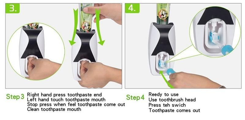 Wall Mounted Toothbrush Electric Holder - Daniels Store