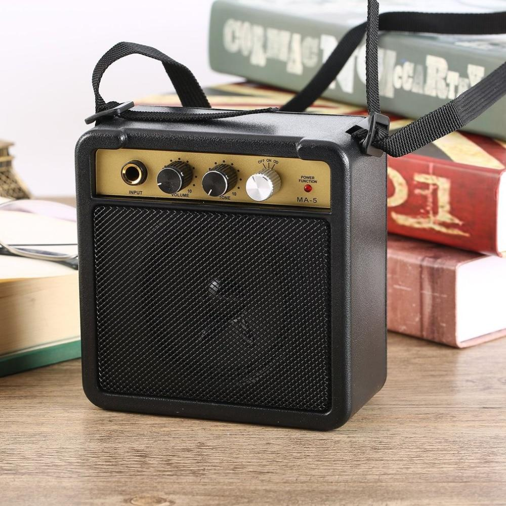 Portable Mini Guitar Amplifier For Acoustic & Electric - Daniels Store