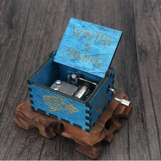 Hand Crank Wind Up Music Box - Daniels Store