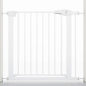 Wide Baby Walk Through Fence Gate With Door Pressure Mounted - Daniels Store