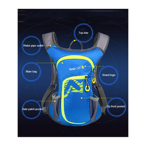 2.0L Water Hydration Backpack Bladder Bottle - Daniels Store