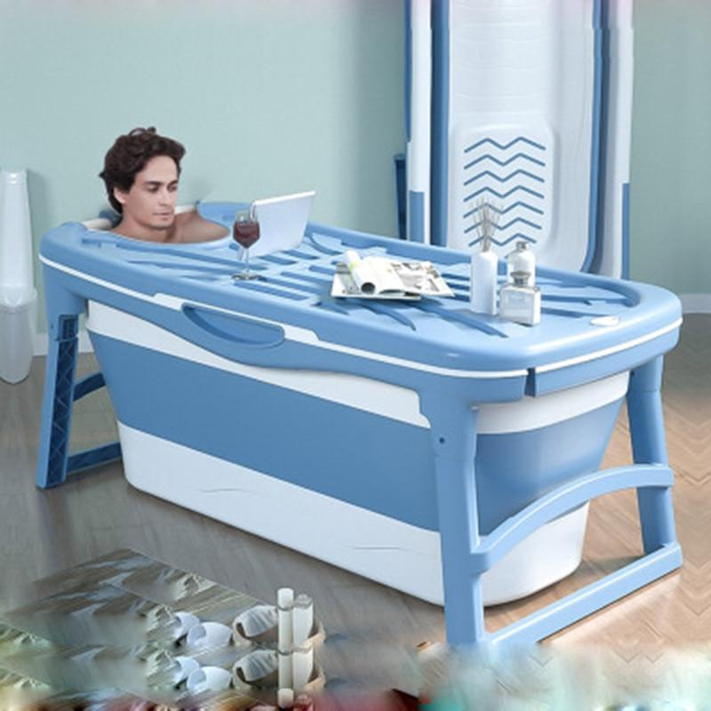 Large Foldable Stand Alone Portable Bathtub For Adults - Daniels Store