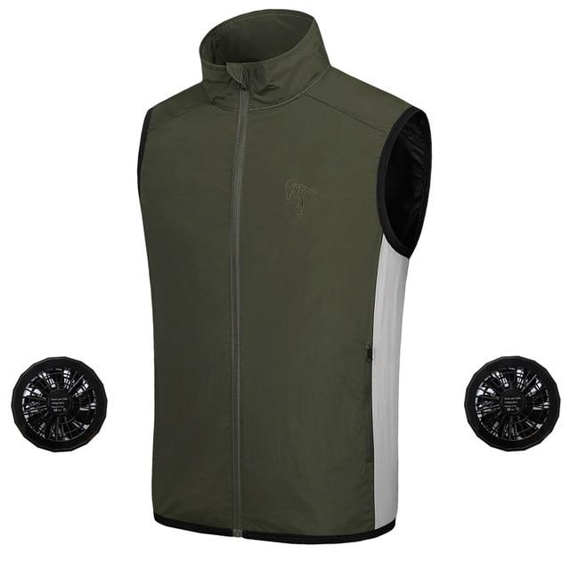 Men's Air Conditioned Cooling Jacket Ice Vest - Daniels Store