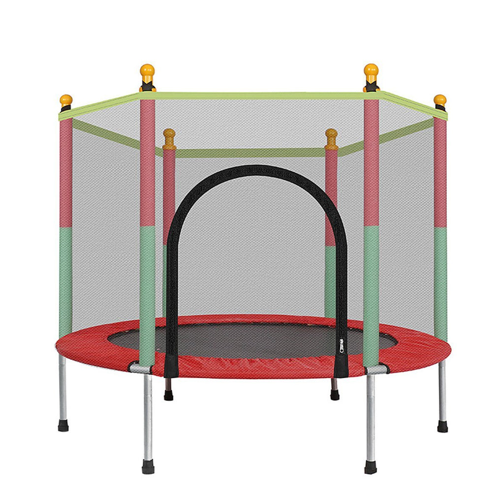 Small Indoor Jump Trampoline With Enclosure For Kids - Daniels Store