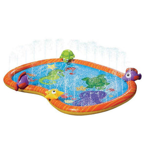 "Large Kids Water Sprinkler Splash Pad Mat 55"" - Daniels Store"