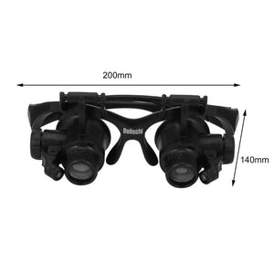 Premium Wearable Lighted Magnifying Eyeglasses - Daniels Store