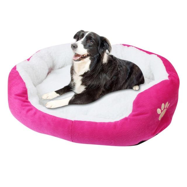 Small Comfy Washable Round Dog Bed - Daniels Store