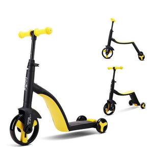 2 in 1 Kids 3 Wheel Scooter And Tricycle Combo - Daniels Store