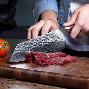 Classic Japanese Butchers Meat / Vegetable Cleaver - Daniels Store