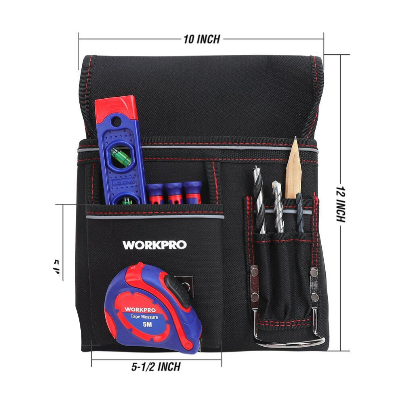 Adjustable Tool Belt Nail Pouch - Daniels Store