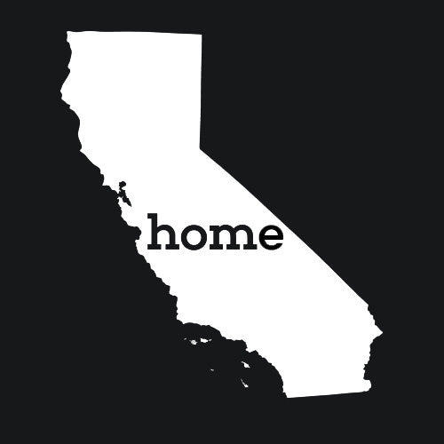 California Home T-Shirts - Textual Tees