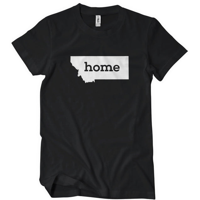 Montana Home T-Shirt Mens T-Shirt - Textual Tees