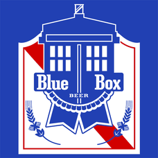 Blue Box Beer T-Shirts - Textual Tees
