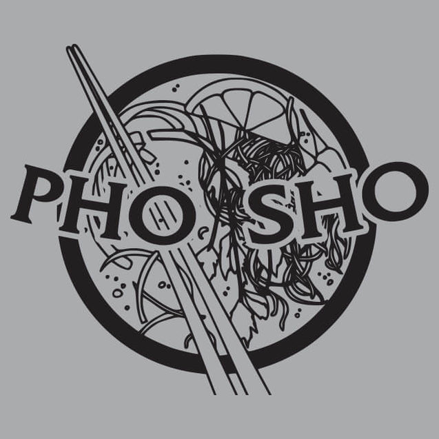 Pho Sho Mens T-Shirt - Textual Tees