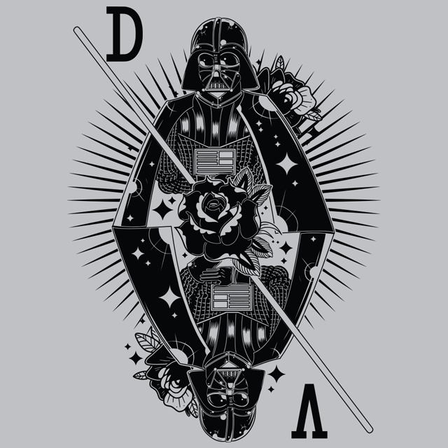 Ace of Vader T-Shirts - Textual Tees